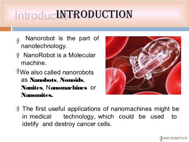 nanomites technology ppt