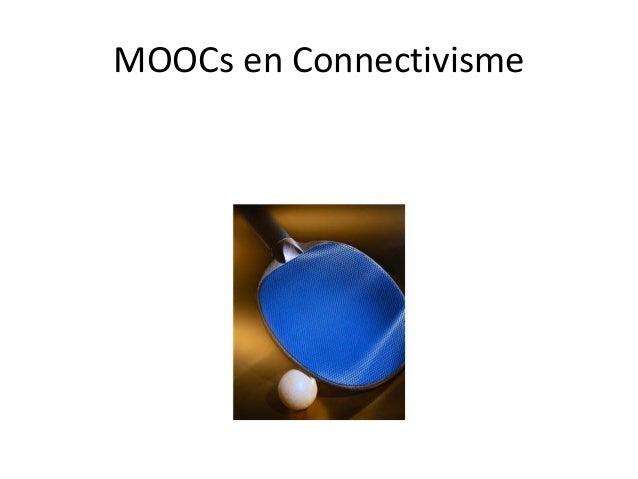MOOCs en Connectivisme