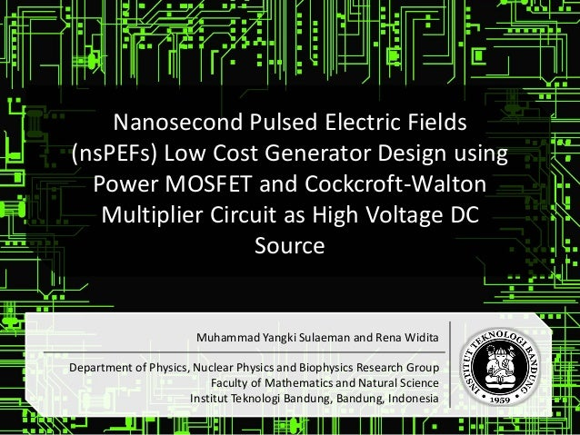 Nanosecond Pulsed Electric Fields (nsPEFs) Low Cost Generator Design …