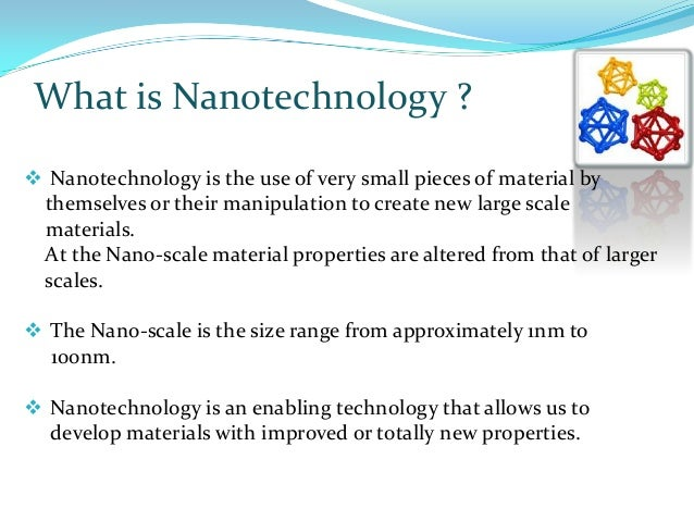 Nano Technology in Civil Engineering