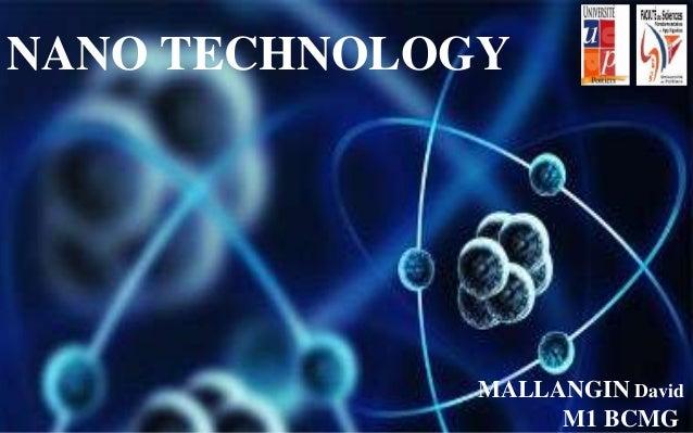 MALLANGIN David M1 BCMG NANO TECHNOLOGY