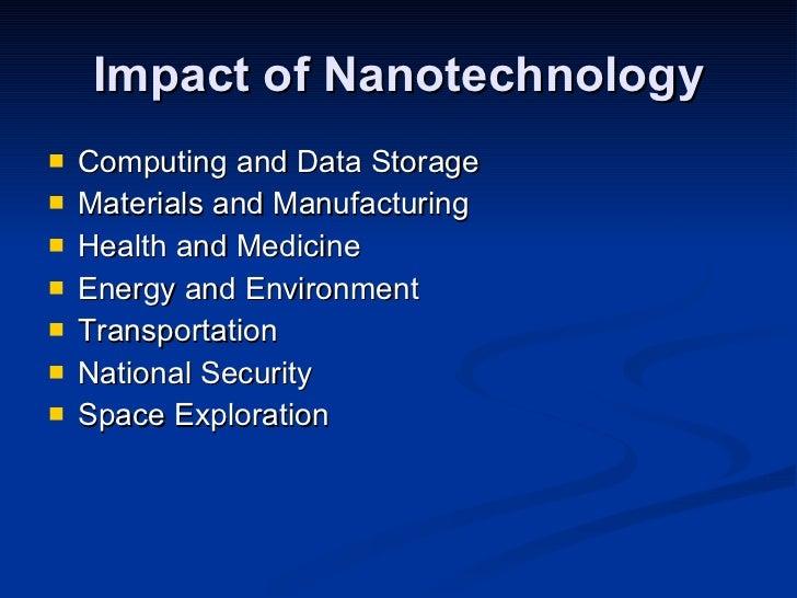 Nanotechnology by sanchit sharma
