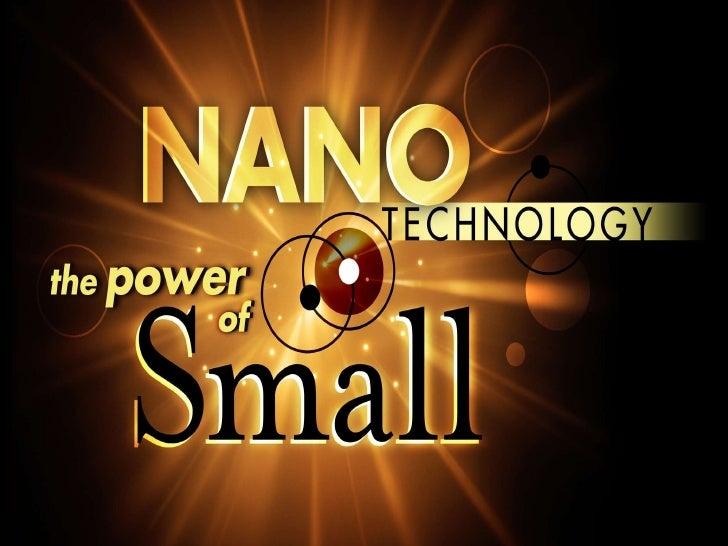 NanotechnologyRevolutionarily Very Big (Small) Thing                          Small            ROSHAN JESUS MATHEW        ...