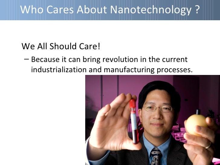 Applications OfNanotechnologyNano