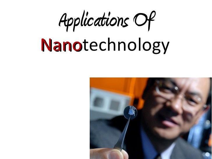 Applications Of NanotechnologyElectronics(contd.)  – Plasma Displays  – Quantum Computers