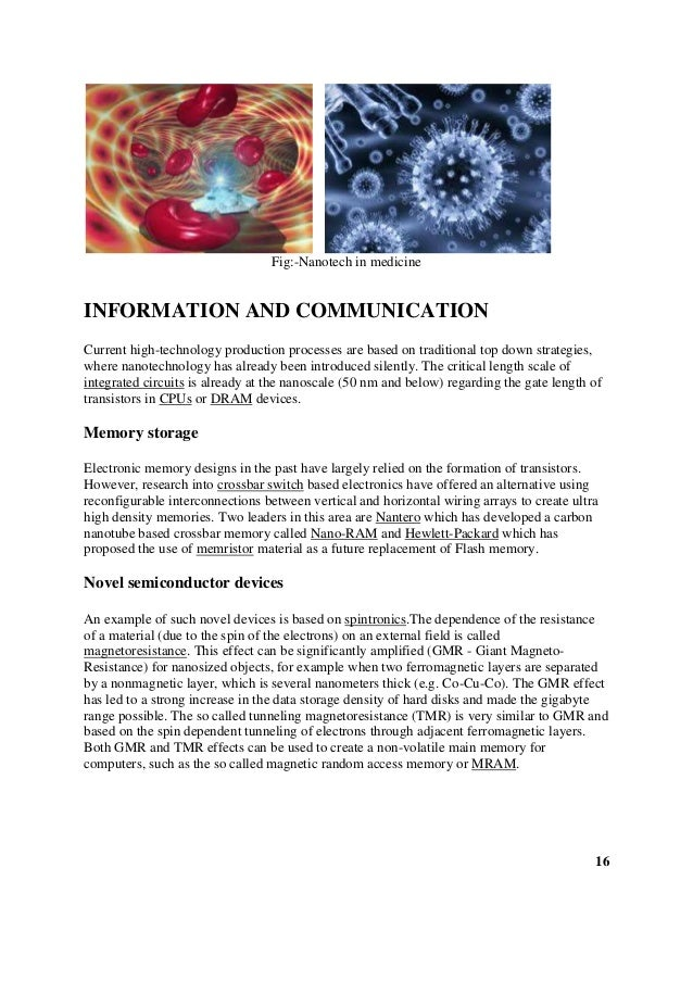 The Yellow Wallpaper Critical Essay Free Science Essays Thesis Statement In A Narrative Essay also Who Can Write My Biology Report Nanotechnology A Revolutionary Undertaking Essay How Do I Write A Thesis Statement For An Essay