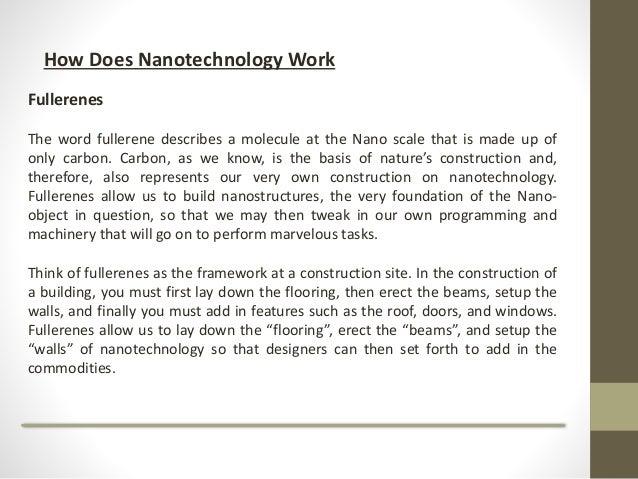 how does nanotechnology work pdf