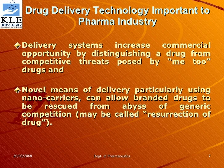 nanotechnology based drug delivery systems Read nanotechnology-based drug delivery systems for targeting, imaging and diagnosis of neurodegenerative diseases, pharmaceutical research on deepdyve.