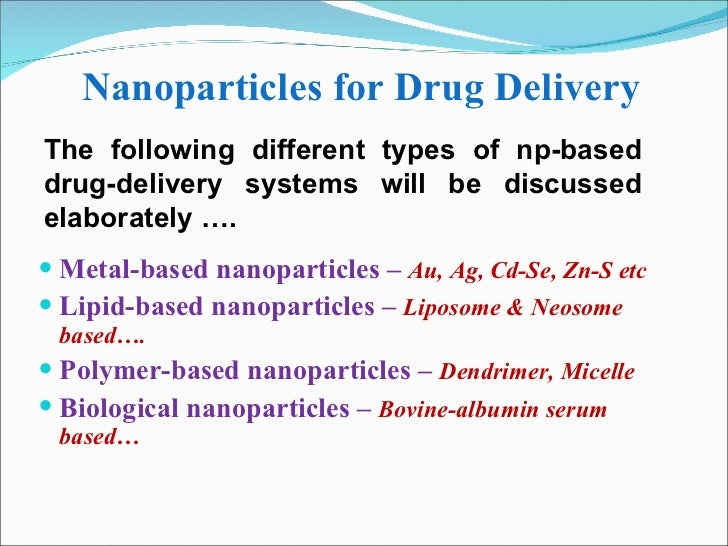 nanocrystal nanoparticles drug delivery in oncology Promising approaches in using magnetic nanoparticles in oncology abstract the development of new and effective drug delivery systems for cancer treatment represents one of the significant chal-lenges facing biomedical acid-coated magnetite nanocrystal cores with cationic lipid shells.