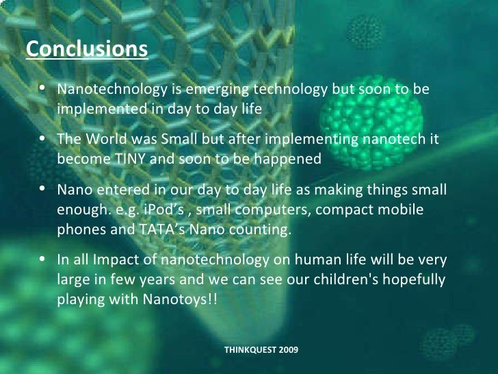 The Impact of Nanotechnology on Modern Life