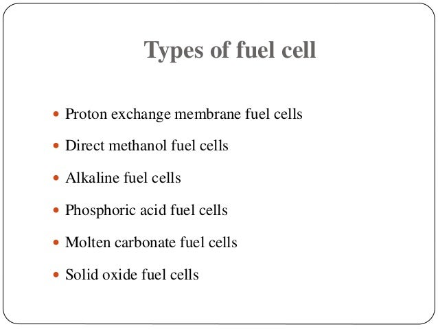 Nanotechnology in fuel cell