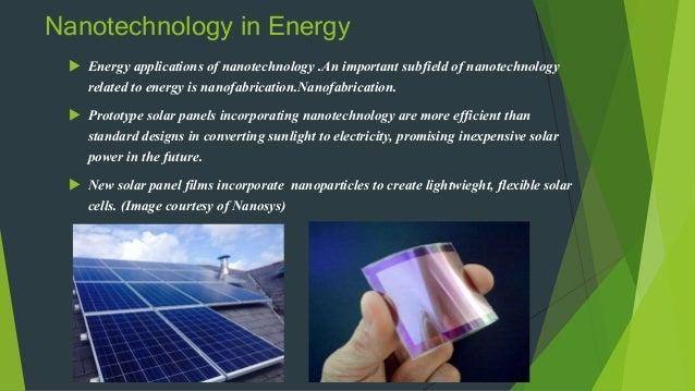 Nanotechnology Amp Its Application By Saquib Khan