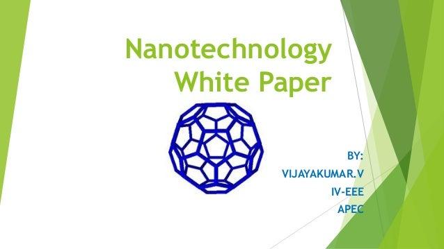 thesis on nanotechnology