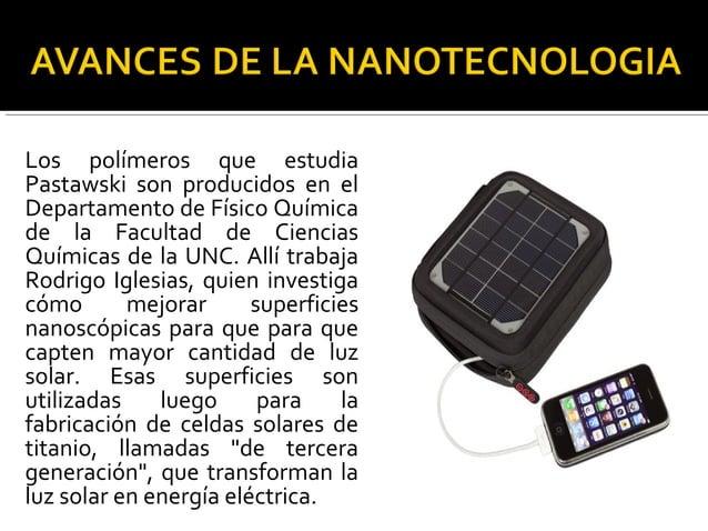 Actualmente, las celdas solares que se comercializan son de silicio, que resultan muy costosas, poco eficientes y contamin...