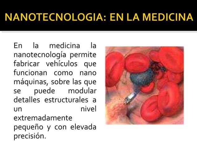 Las aplicaciones de la nanotecnología en la alimentación mejoraran las posibilidades de detección de pequeñas cantidades d...