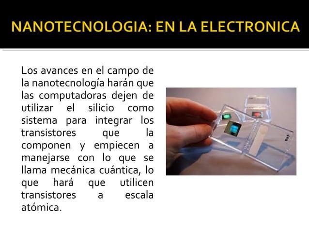 En Argentina, la nanotecnología es considerada un área estratégica para el desarrollo científico y productivo del país, y ...