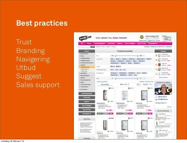Best practices             Trust             Branding             Navigering             Utbud             Suggest        ...