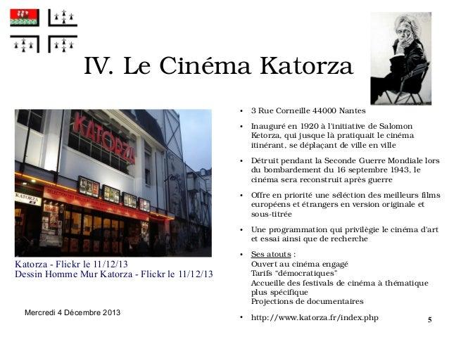 IV.LeCinémaKatorza ●  ●  ●  ●  ●  ●  Katorza - Flickr le 11/12/13 Dessin Homme Mur Katorza - Flickr le 11/12/13  Mercre...