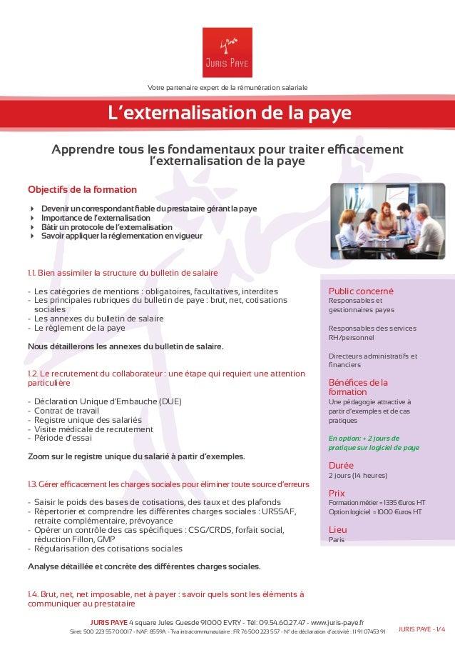 Votre partenaire expert de la rémunération salariale  L'externalisation de la paye  Apprendre tous les fondamentaux pour t...