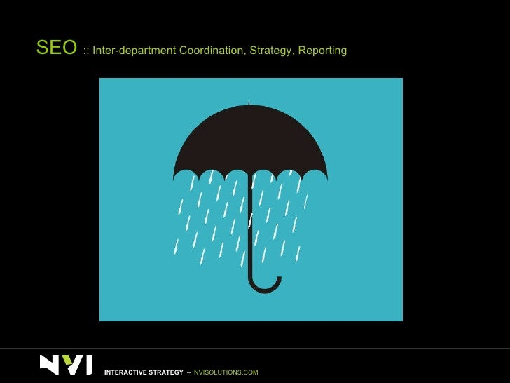 SEO  :: Inter-department Coordination, Strategy, Reporting INTERACTIVE STRATEGY  –  NVISOLUTIONS.COM