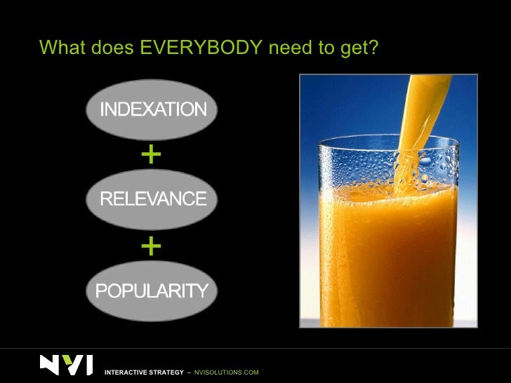 What does EVERYBODY need to get? INTERACTIVE STRATEGY  –  NVISOLUTIONS.COM