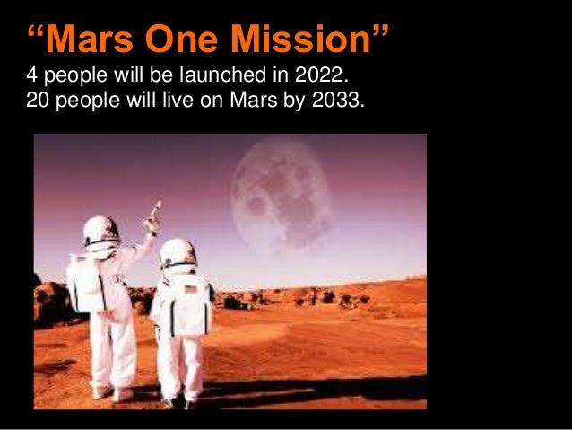 mars one 2033 - photo #8