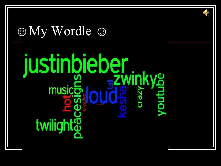 ☺My Wordle ☺