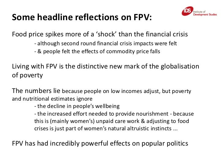 Naomi Hossain: What FPV means, why it matters and for whom Slide 3