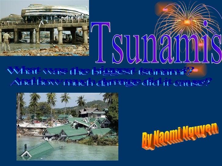 PPT Tsunamis PowerPoint presentation