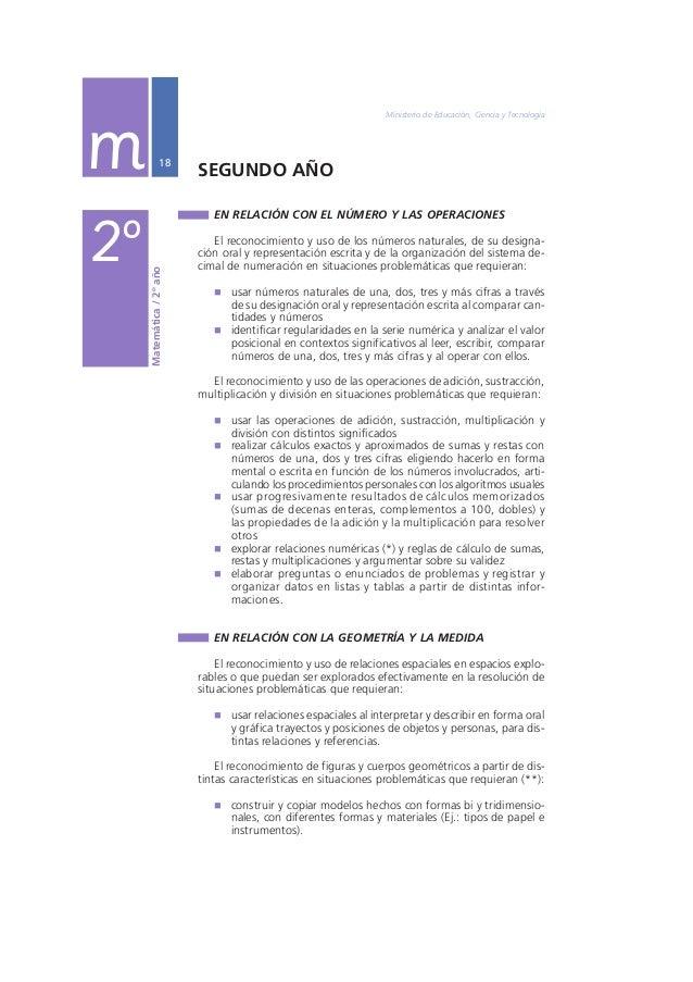 """Núcleos de Aprendizajes Prioritarios Primer Ciclo EGB / Nivel Primario  19  """" comparar y describir figuras y cuerpos según..."""