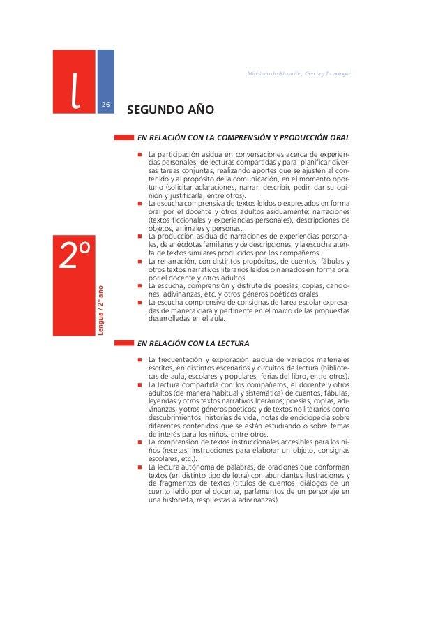 """Núcleos de Aprendizajes Prioritarios Primer Ciclo EGB / Nivel Primario  27  EN RELACIÓN CON LA ESCRITURA  """" La escritura a..."""