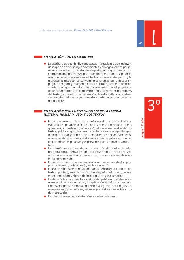 Núcleos de Aprendizajes Prioritarios Primer Ciclo EGB / Nivel Primario  s CIENCIAS SOCIALES  31  La escuela ofrecerá situa...