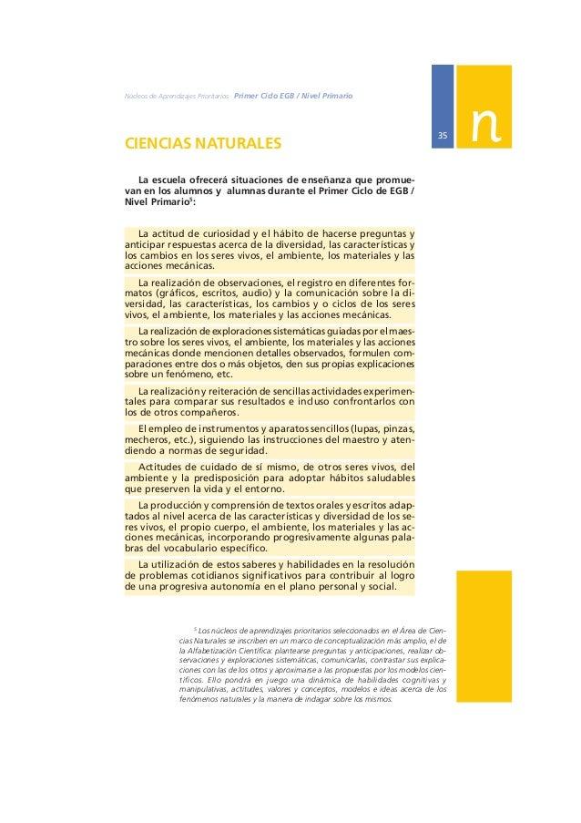 Ministerio de Educación, Ciencia y Tecnología  36  EN RELACIÓN CON LOS SERES VIVOS:  DIVERSIDAD, UNIDAD, INTERRELACIONES Y...