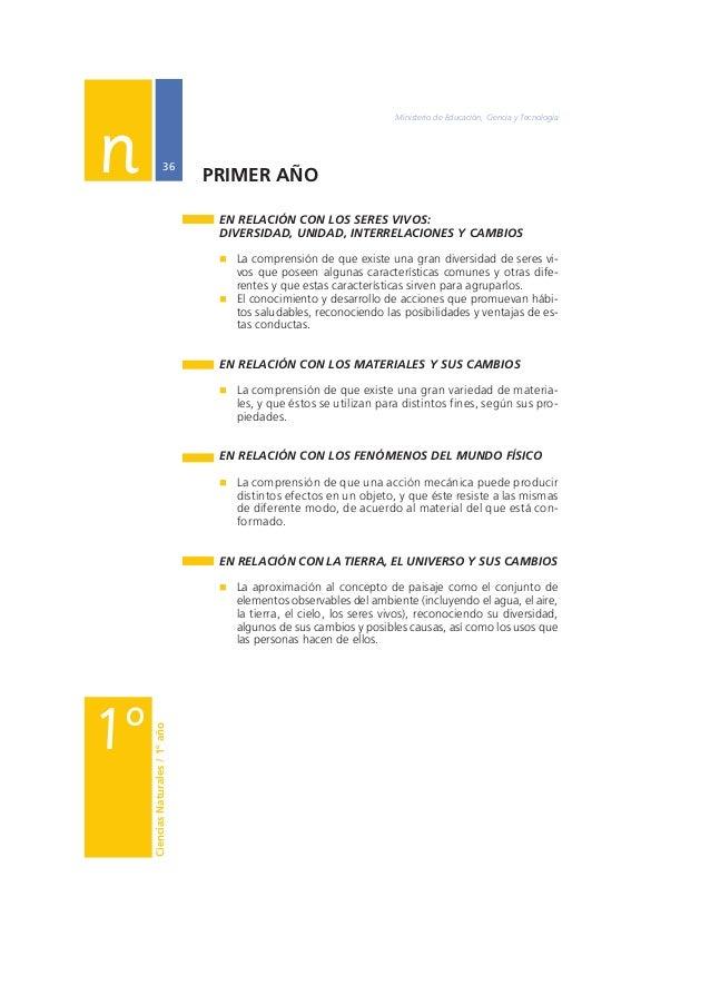 Núcleos de Aprendizajes Prioritarios Primer Ciclo EGB / Nivel Primario  37  EN RELACIÓN CON LOS SERES VIVOS:  DIVERSIDAD, ...