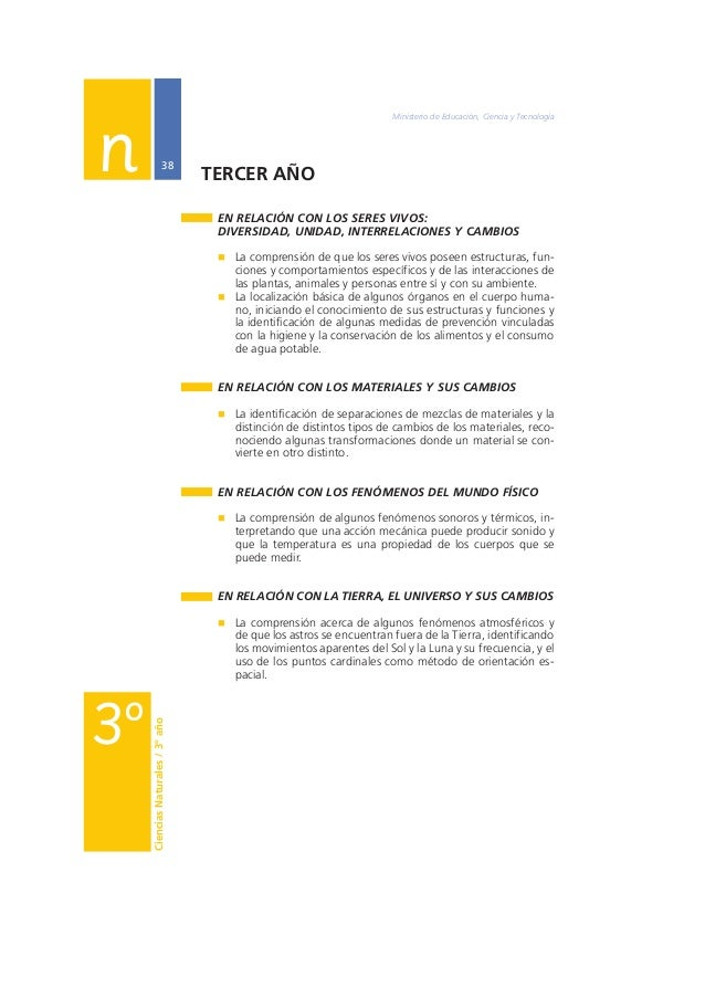 Núcleos de Aprendizajes Prioritarios Primer Ciclo EGB / Nivel Primario  39  A modo de cierre  La identificación de los Núc...