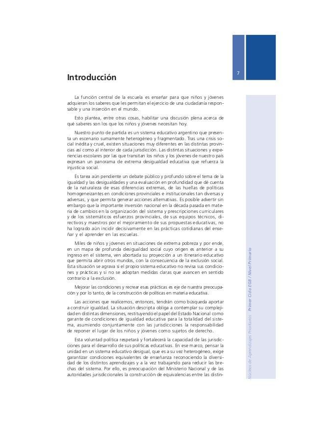 Ministerio de Educación, Ciencia y Tecnología  8  tas propuestas formativas y experiencias de aprendizaje, construyendo un...