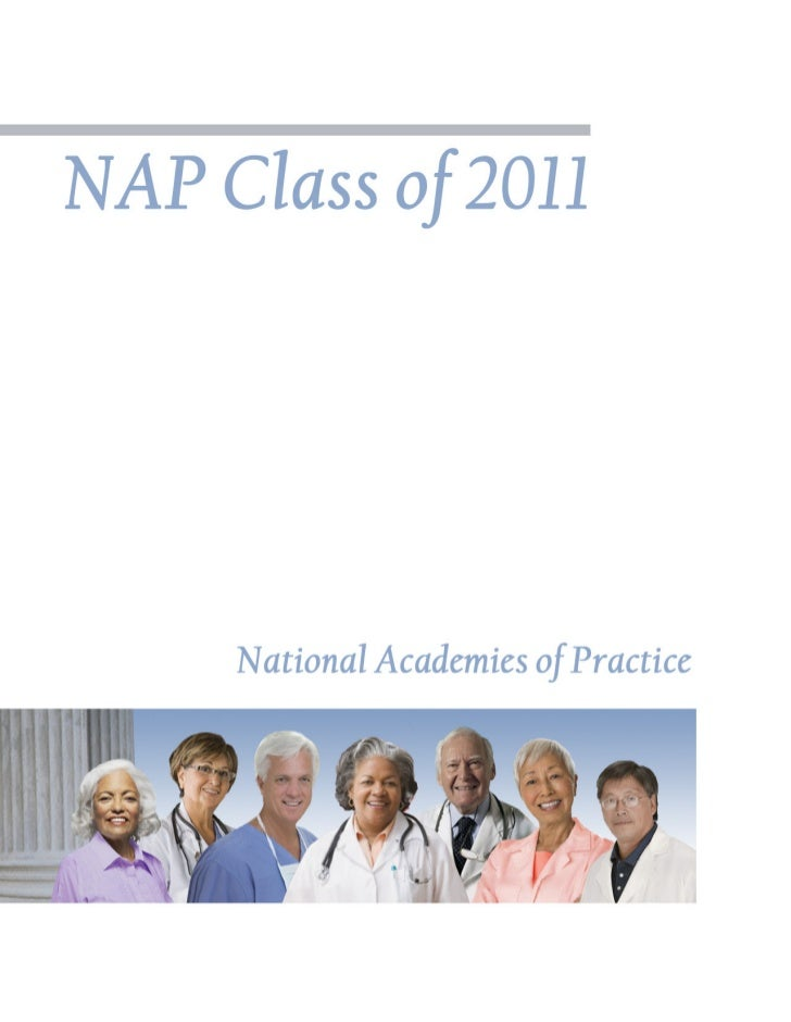NAP Class of 2011   National Academies of Practice             March 26, 2011