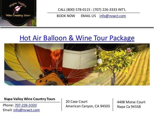 Napa Valley Wine Tours Slide 3