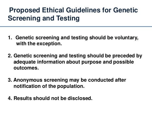 ethical issues in medical genetics Ethical issues in genetic engineering and transgenics a genetic definition is not very helpful she recently completed a fellowship at the institute of ethics with the american medical association, where her research encompassed the legal.