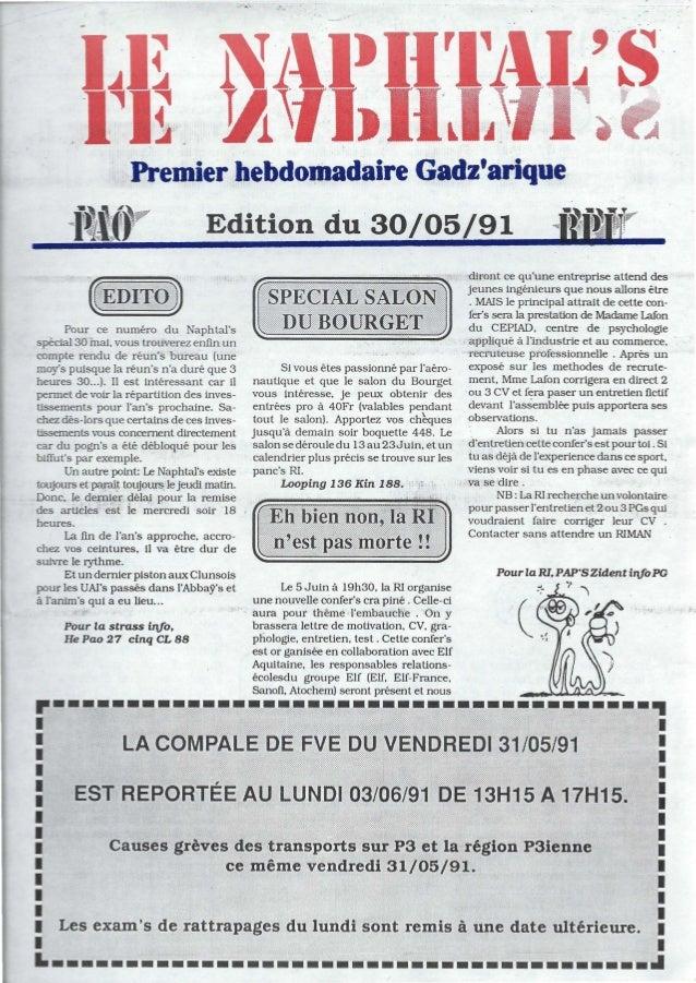 -:--...Premier hebdomadaire GadzariqueEdition du 30/05Pour ce nu méro du NaphtalsspeCial 30 mai, vous trouverez enfin unco...