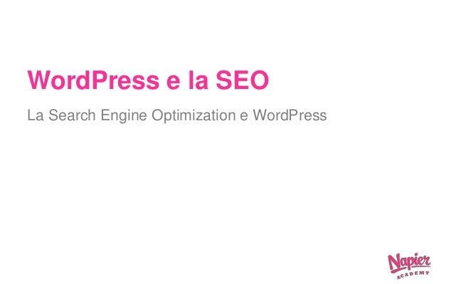 Corso Pratico di WordPress slideshare - 웹