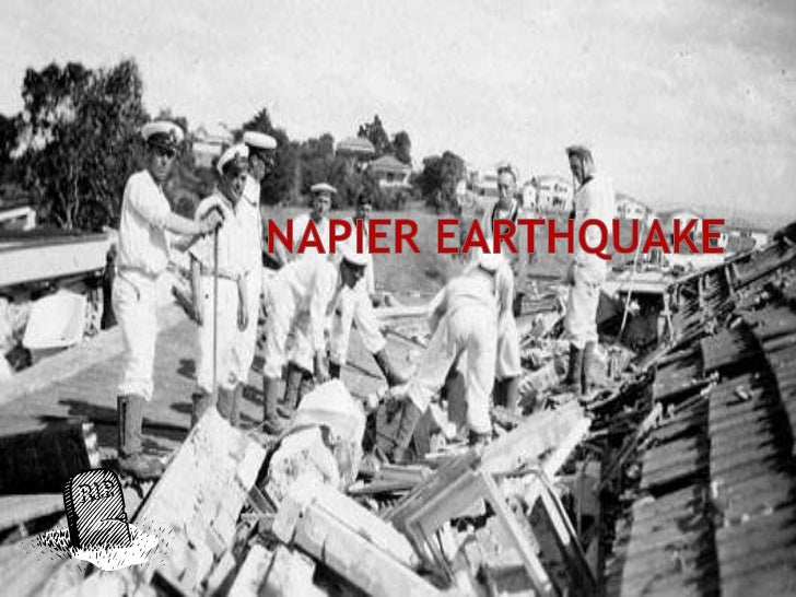  OnFebruary 3, 1931 a 7.8 magnitude earthquake shocked the towns of Hawkes Bay, Napier and Hastings. It was 20Km north-we...