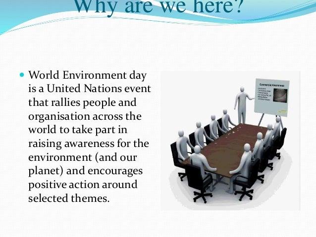 World environment day presentation ppt