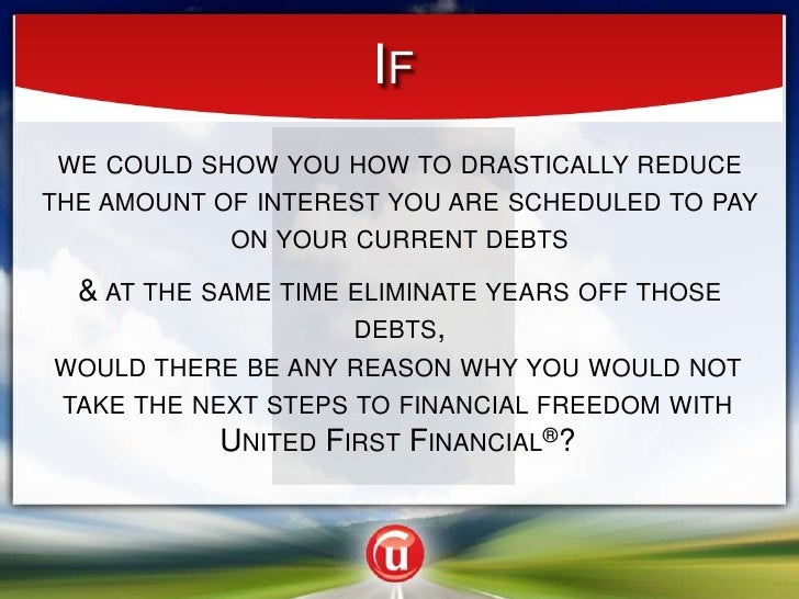 If<br />we could show you how to drastically reduce the amount of interest you are scheduled to pay on your current debts<...