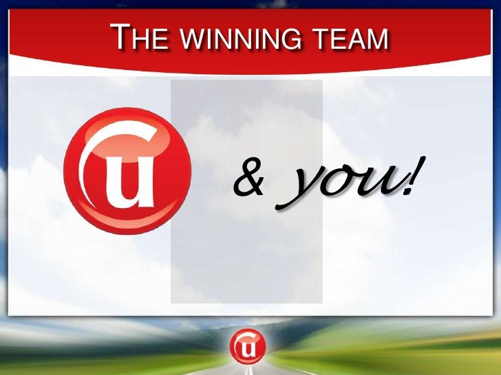 The winning team<br />& you!<br />