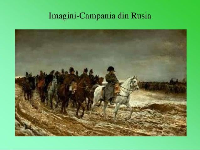 Imagini-Campania din Rusia