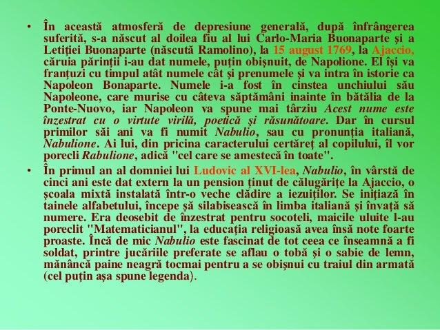 • În această atmosferă de depresiune generală, după înfrângerea  suferită, s-a născut al doilea fiu al lui Carlo-Maria Buo...