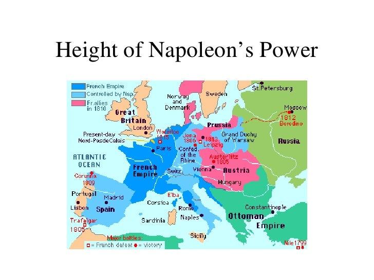 Napoleon Chart Maps