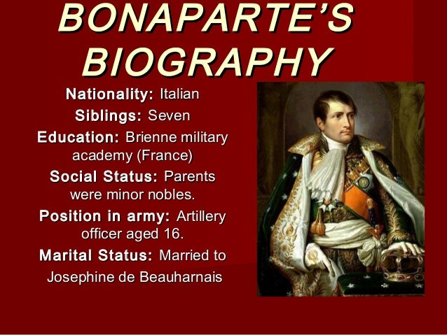 an analysis of the bonapartes success as a military leader in france He expanded the conquests of france from her revolutionary borders to that of an   and his argument that napoleon's successes held a certain makeshift quality   in the overall historical interpretation of napoleon as a military commander it is   in order to judge napoleon bonaparte as a great military leader it is essential.