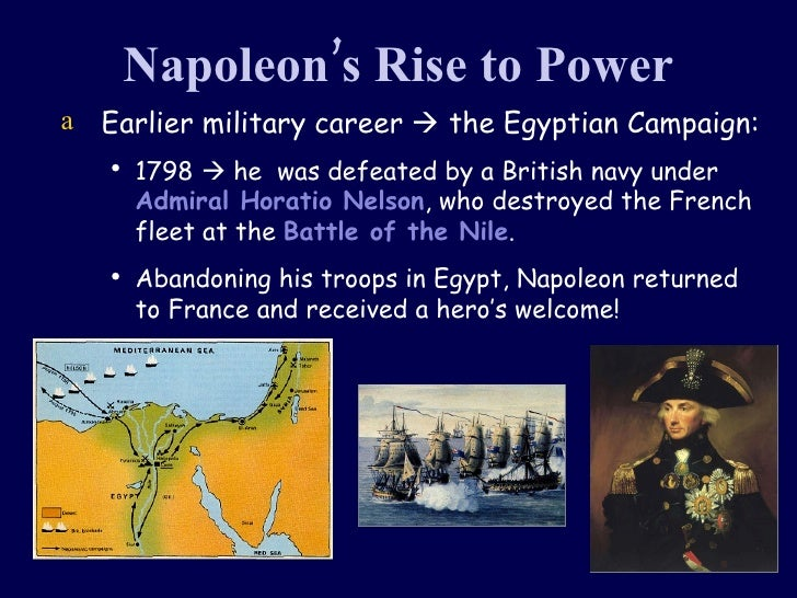 napoleons rise to power Napoleon bonaparte's rise to power marked the death knell of the french  revolution his autocratic government ended the attempts at.